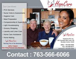 Hope Care PCA